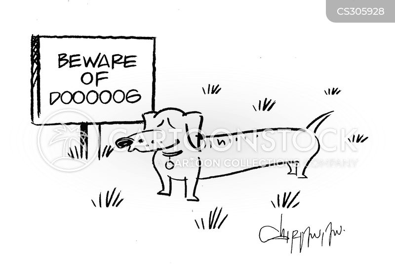 dachshunds cartoon