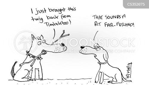 tall story cartoon