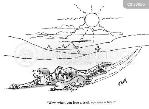trailing cartoon