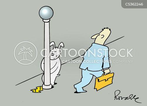 lampposts cartoon