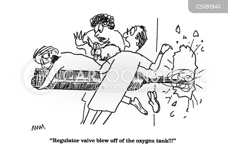 oxygen cartoon