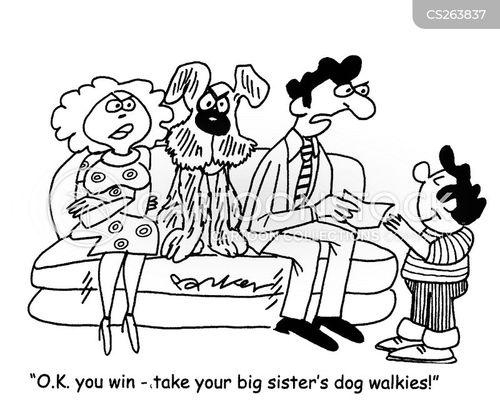 big sisters cartoon
