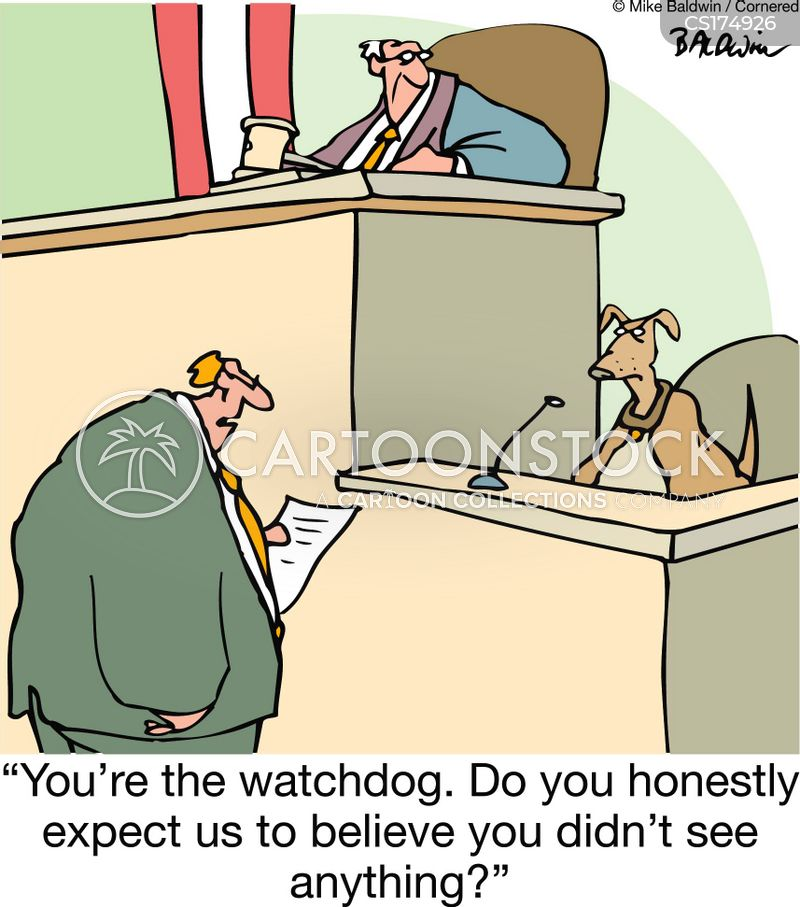watchdog cartoon