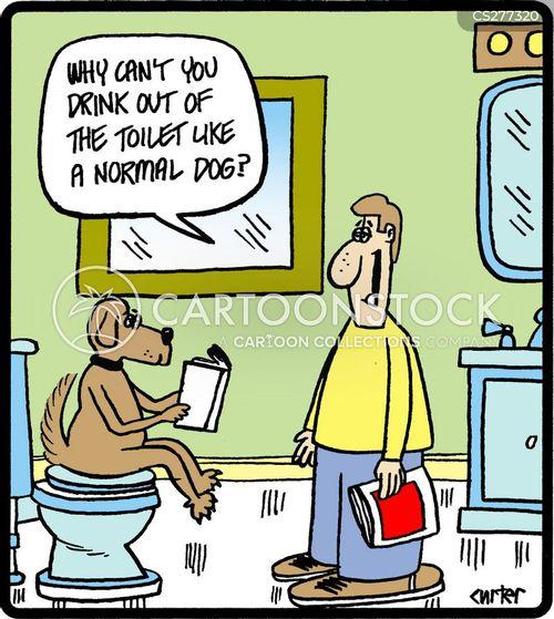 potty trained cartoon
