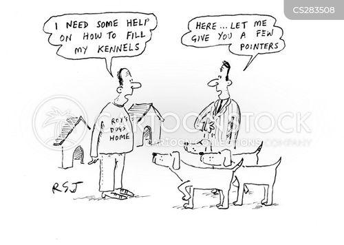 breeding dogs cartoon