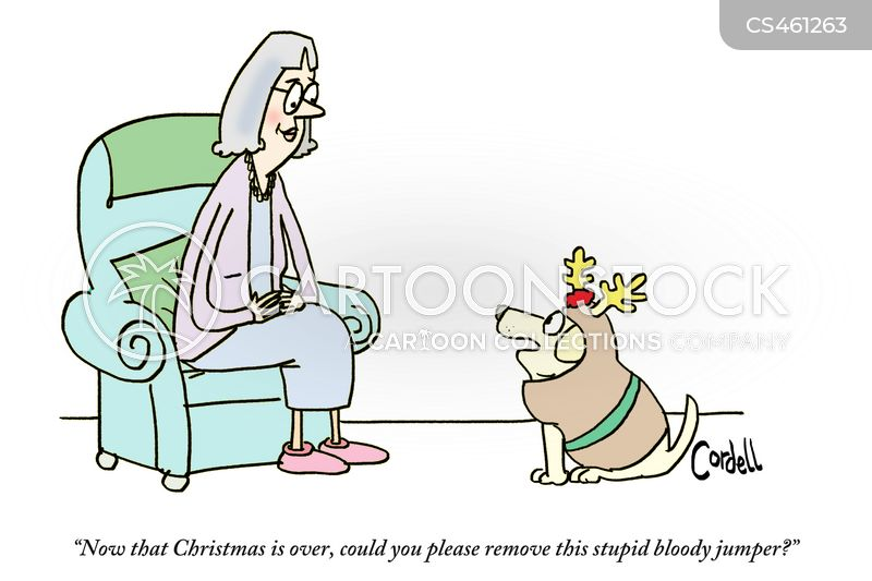 xmas jumpers cartoon