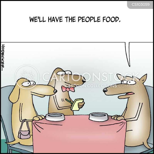 spoiled dog cartoon