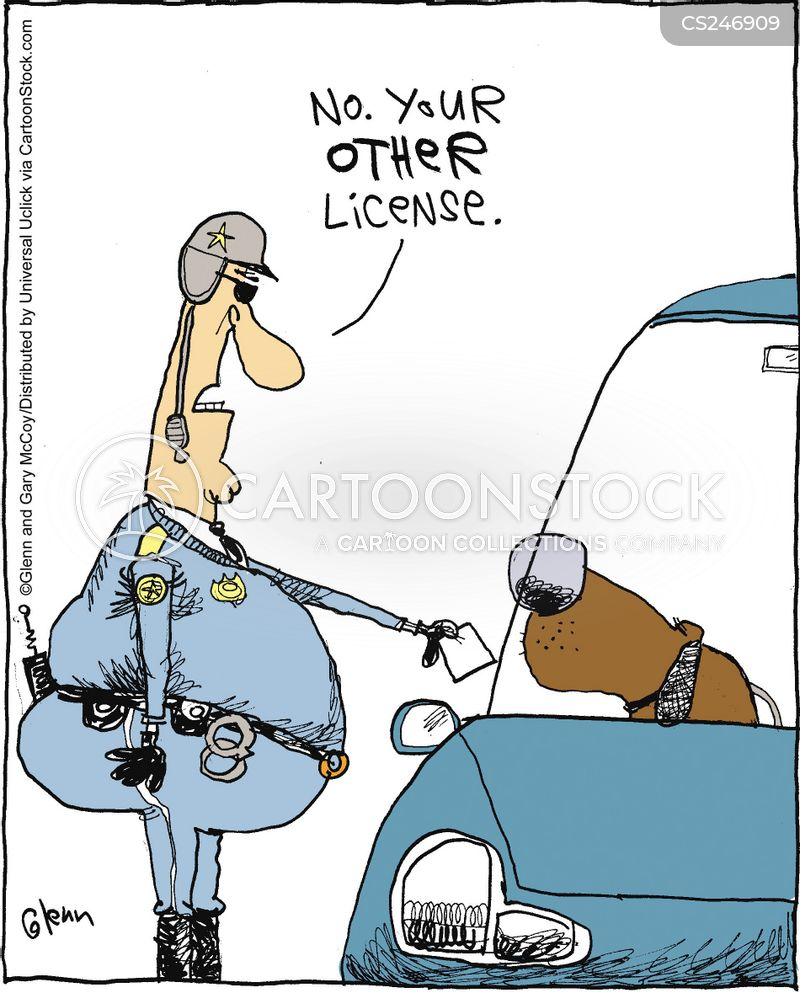Dog License cartoons, Dog License cartoon, funny, Dog License picture, Dog License pictures, Dog License image, Dog License images, Dog License illustration, Dog License illustrations