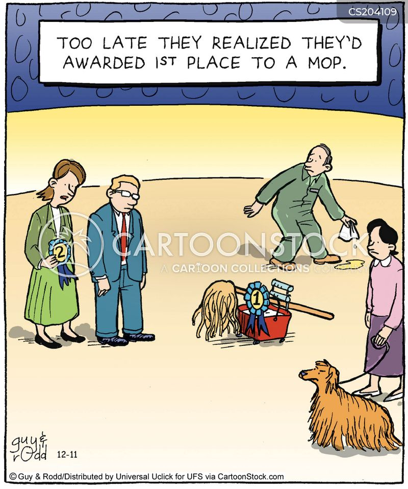 dog-shows cartoon