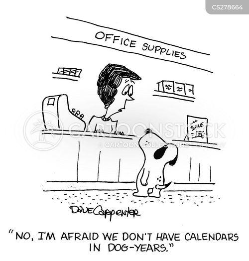 office supplier cartoon