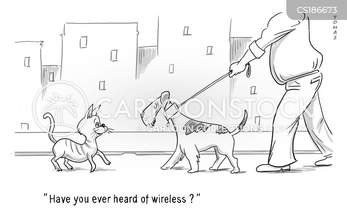 dog lead cartoon