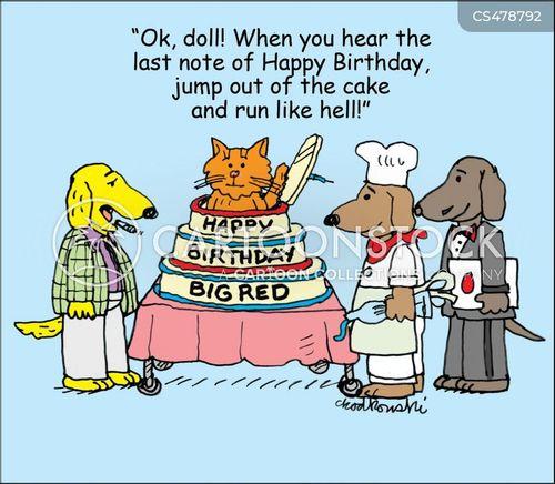 birthday surprises cartoon