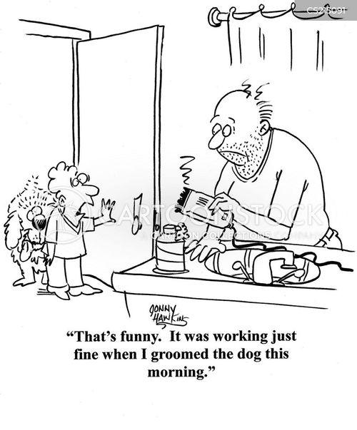 razor cartoon