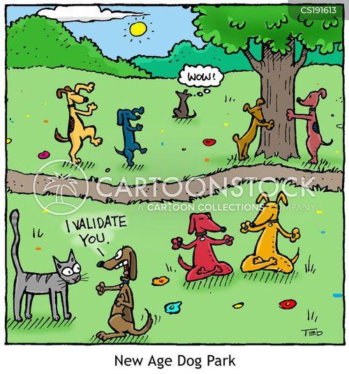 tree hugger cartoon