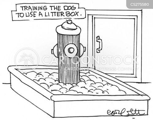 training dogs cartoon