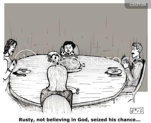 sunday roast cartoon