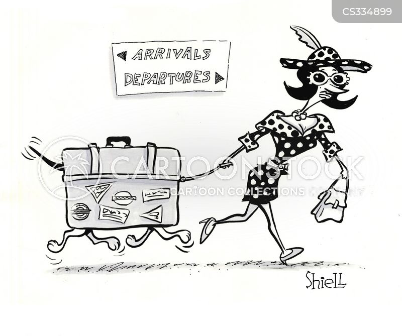 air terminals cartoon