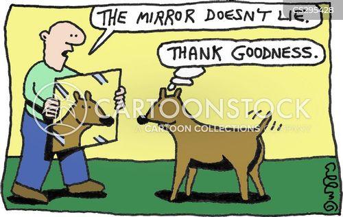 self-delusion cartoon