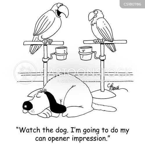 impersonations cartoon