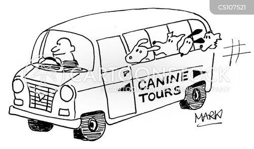 day trips cartoon