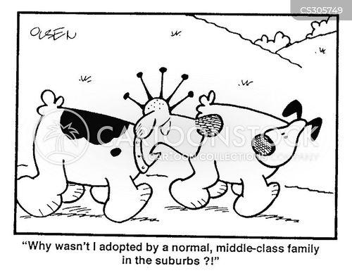 outlandish cartoon