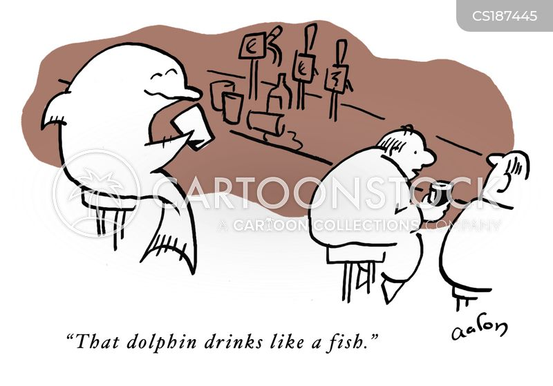 alcoholic drinks cartoon