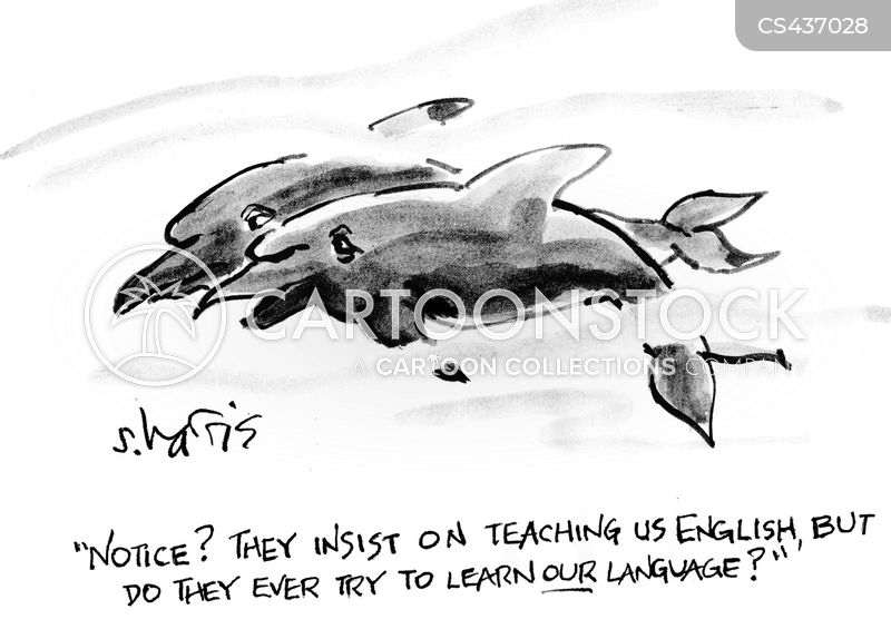 animal language cartoon