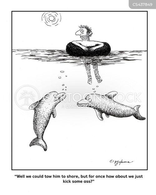 adrift cartoon