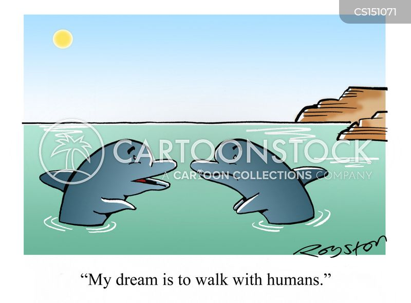 sea life centre cartoon