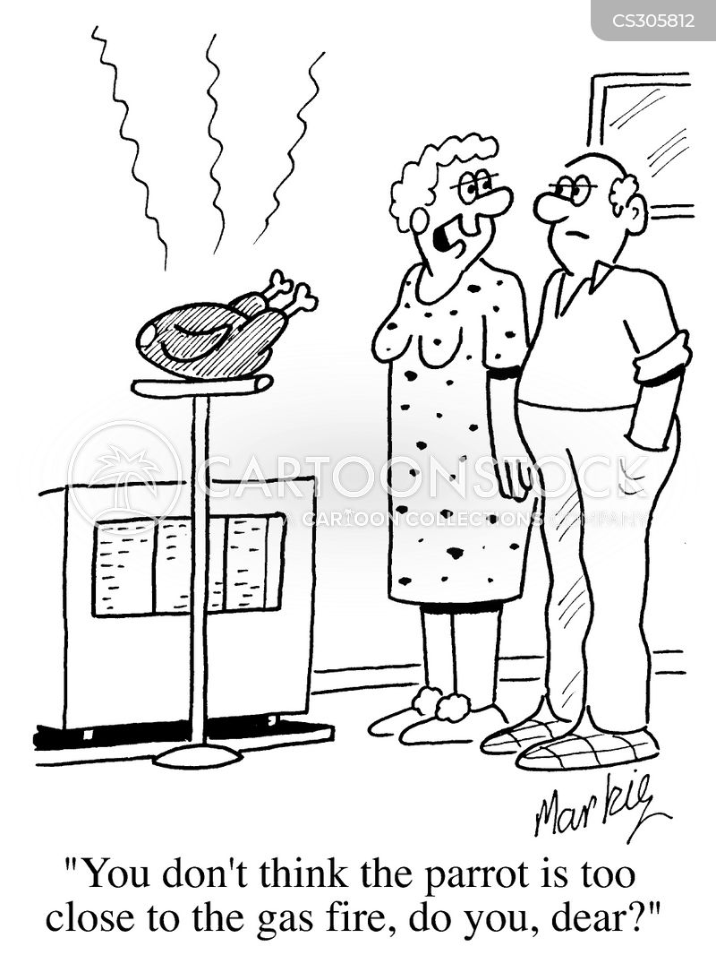 gas fire cartoon