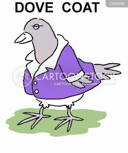 pet dove cartoon