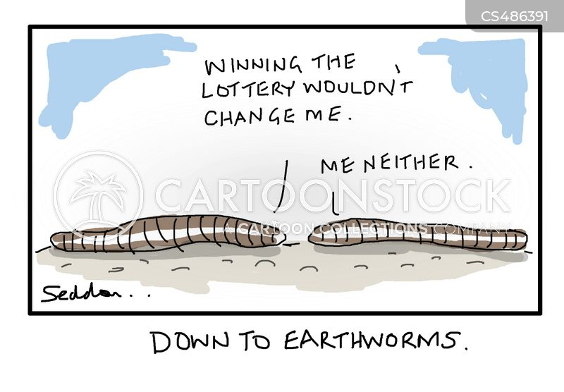 down-to-earth cartoon
