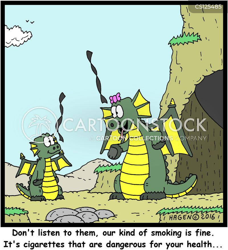 carcinogen cartoon