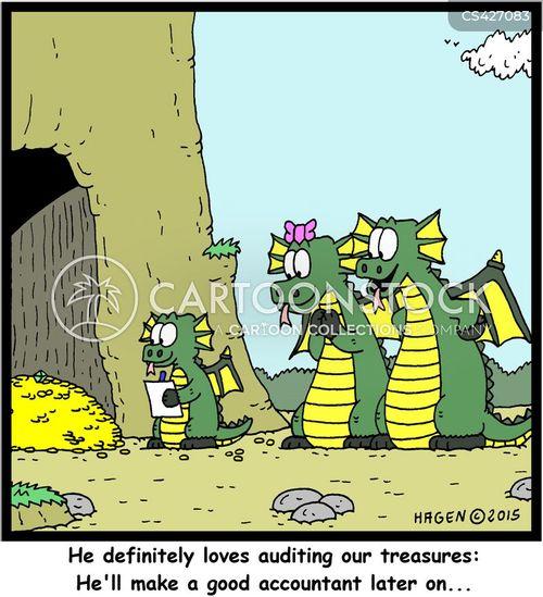 treasure troves cartoon