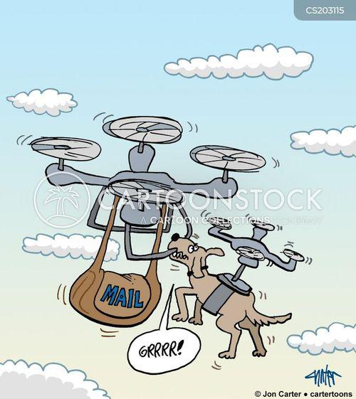 uavs cartoon