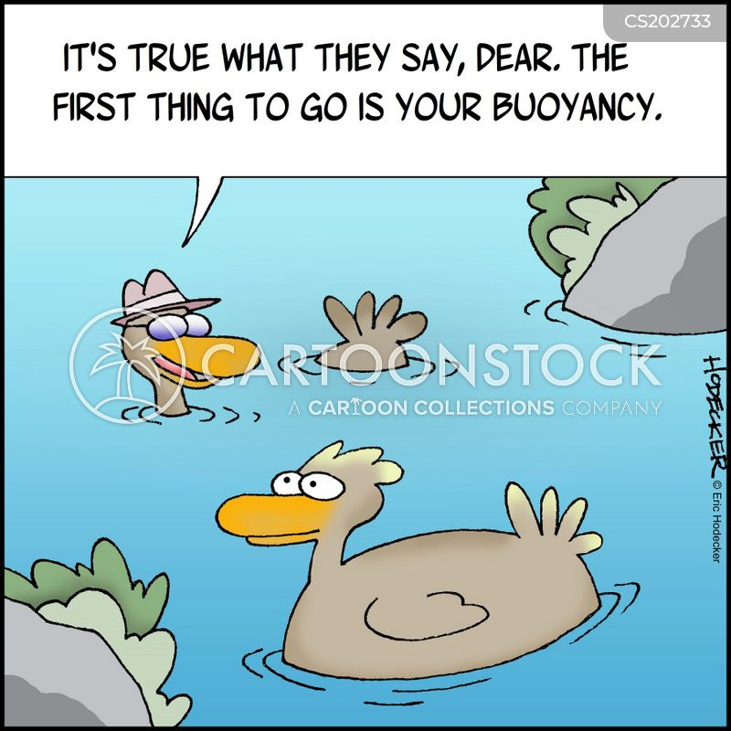 pond life cartoon