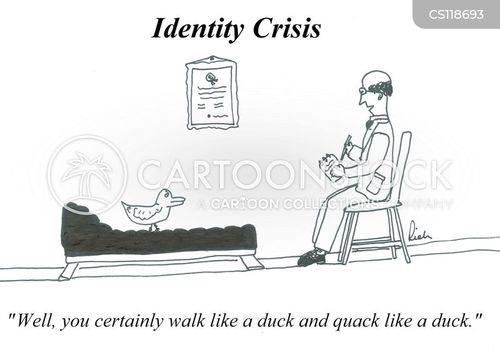 walks like a duck cartoon