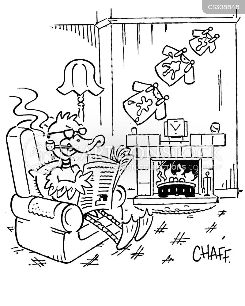 corrie cartoon