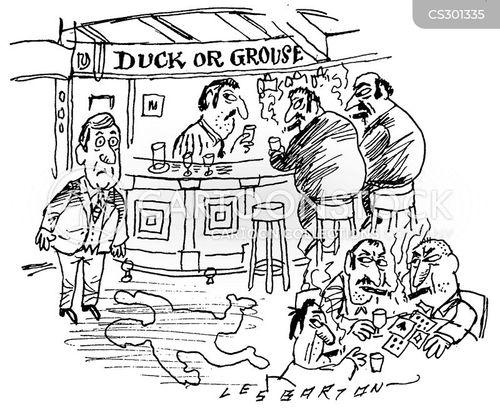 grouse cartoon