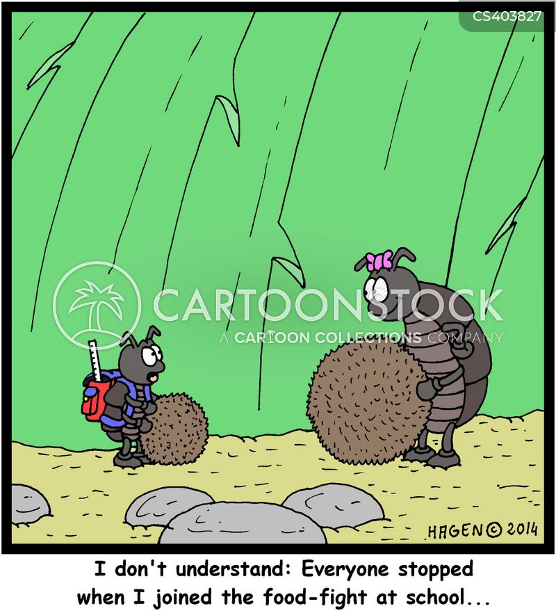 dung-beetle cartoon