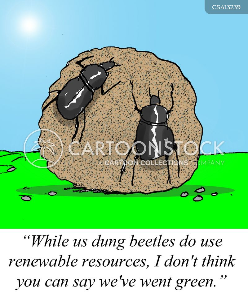 renewable resources cartoon