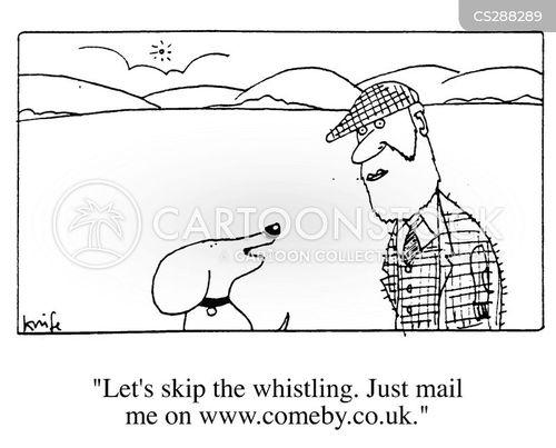 domain name cartoon
