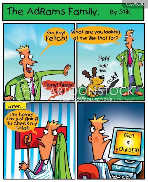 ballgames cartoon