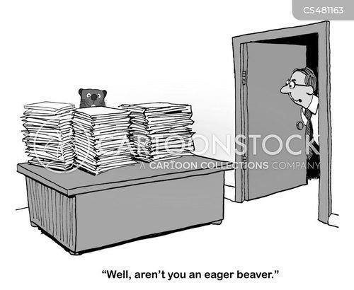 eager beavers cartoon