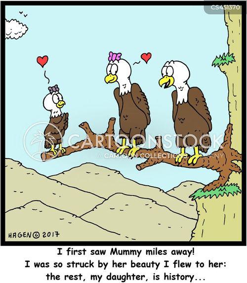 eagle vision cartoon