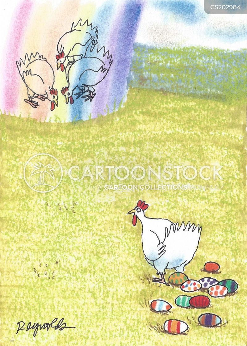 Egg Dye Cartoons and Comics - funny pictures from CartoonStock