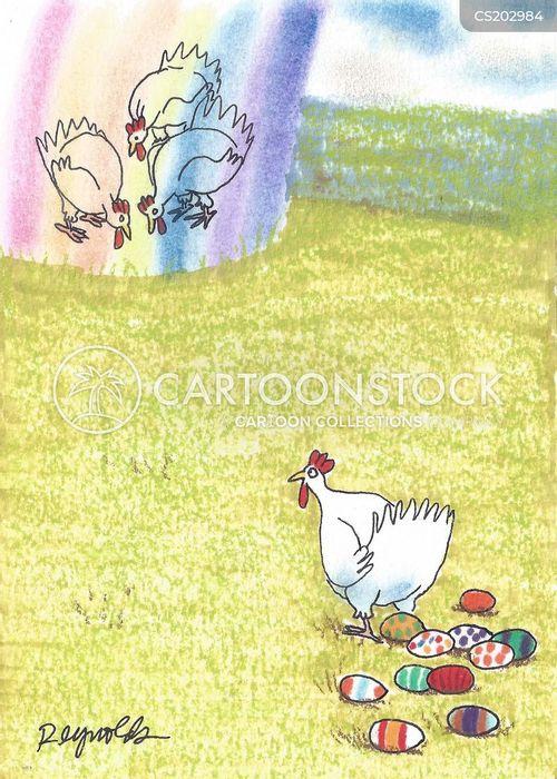 rainbows cartoon
