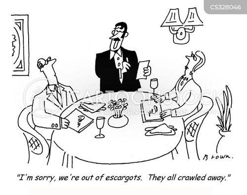 escargots cartoon