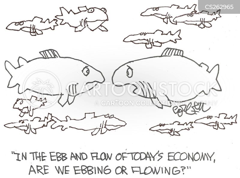 going with the flow cartoon