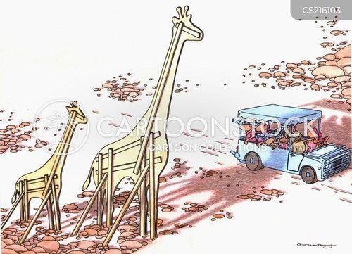 cardboard cut-outs cartoon